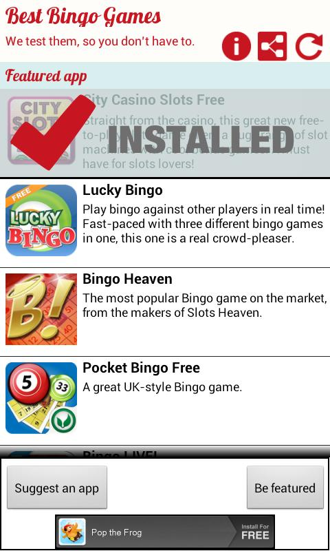 Best New Bingo Games - screenshot