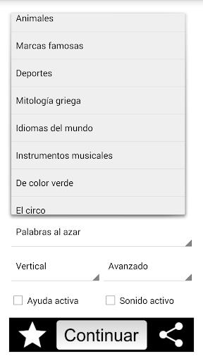 Sopa de Letras Espau00f1ol 1.2 screenshots 17