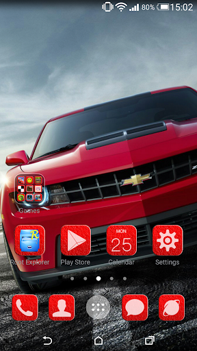 Muscle Go Launcher Theme