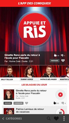 L'App des comiques - screenshot