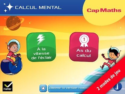 Cap maths CM1, CM2 Capture d'écran