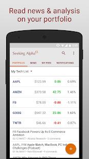 Seeking Alpha Screenshot