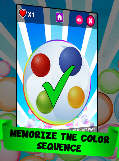 Memory Game - Bubbles