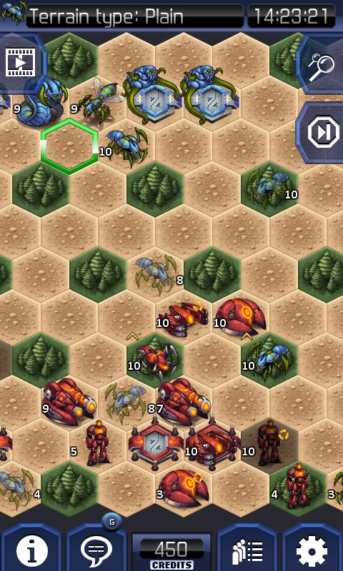 UniWar HD - screenshot