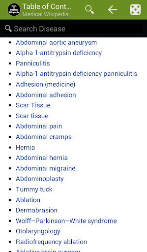 Offline Medical Wikipedia  screenshots 1