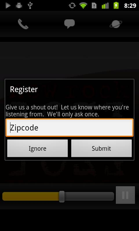 New Rock 107.3 - screenshot