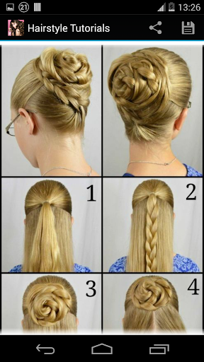 Hairstyles step by step  screenshots 5
