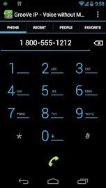 GrooVe IP - Free Calls Screenshot 2