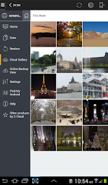 G Cloud Backup Screenshot 4