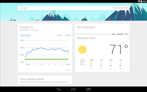 Google Now Launcher v1.1.0.1227934
