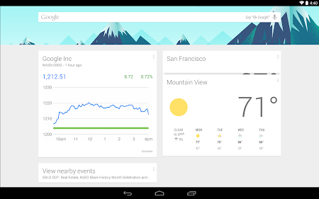 Google Now Launcher 1.1.0.1167994 screenshot 2249