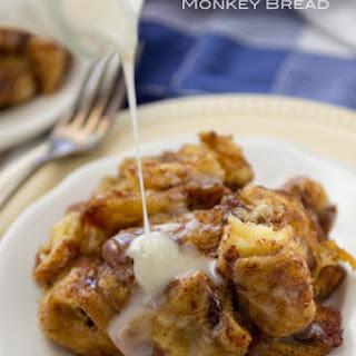 Slow Cooker Cinnamon Roll Monkey Bread