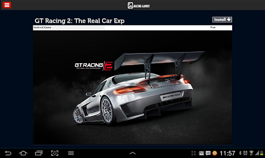 Racing Games For Tablets - screenshot thumbnail
