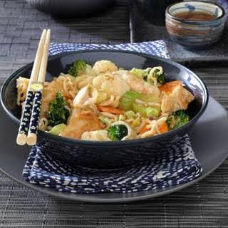 Chicken Noodle Stir-Fry.