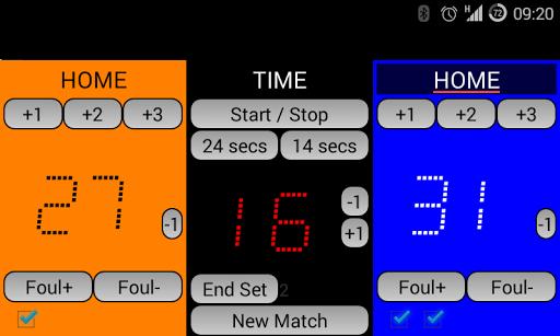 玩運動App|DK Basket Scoreboard免費|APP試玩