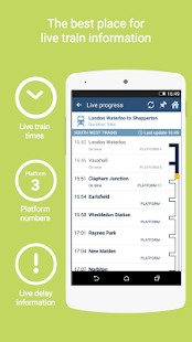 thetrainline times and tickets - screenshot thumbnail
