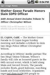 San Diego News