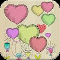 Valentine Love Live Wallpaper icon