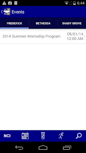 NCI@NIH Summer Internship Prgm - screenshot thumbnail