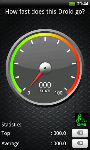 SpeeDroidMeter