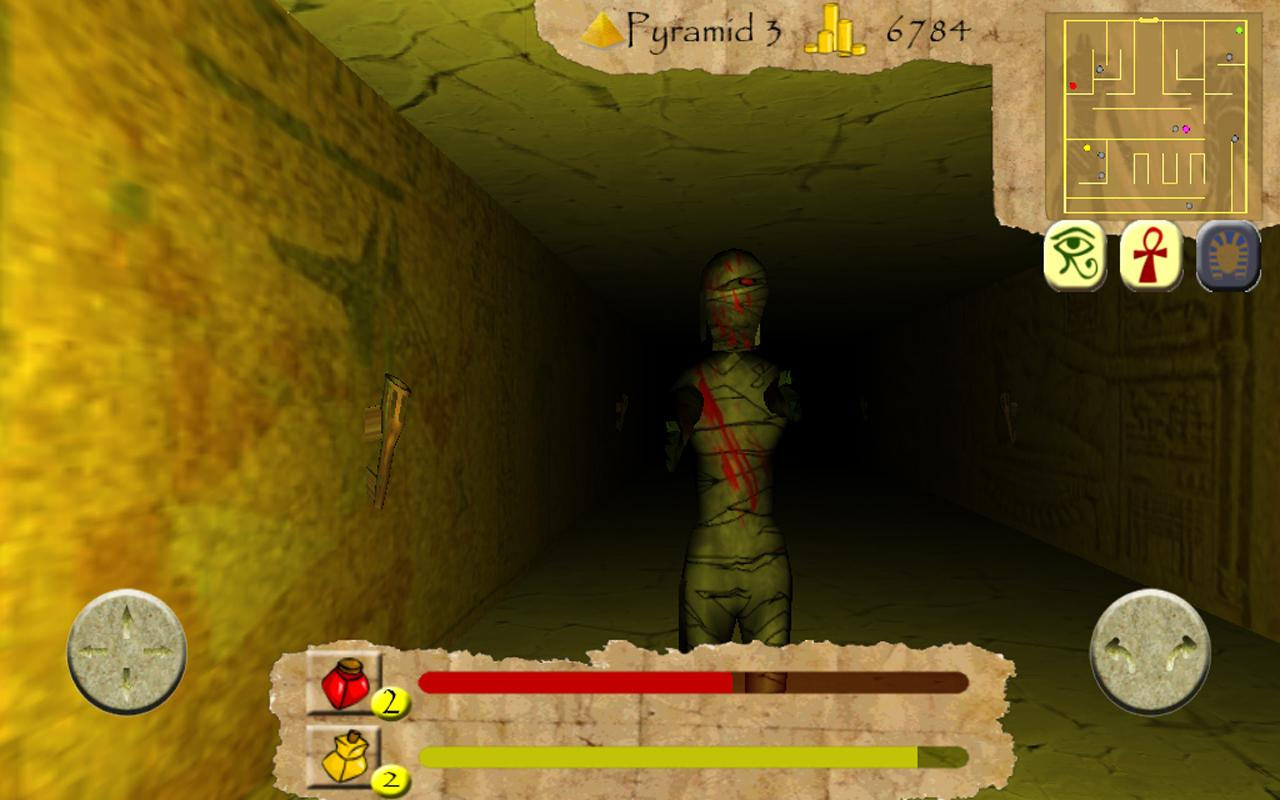 Tomb Trouble - screenshot