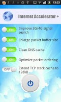 Screenshot of Internet Accelerator +