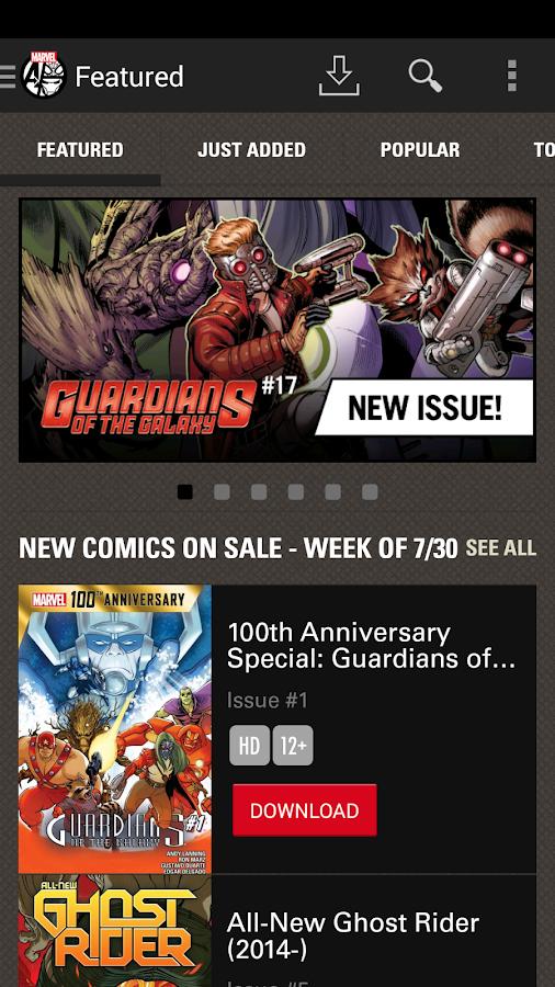 Marvel Comics - screenshot
