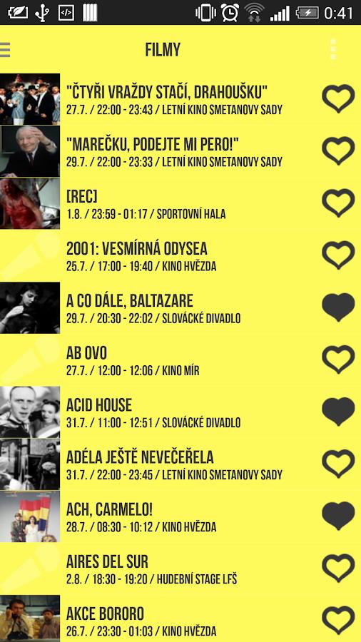 LFŠ - Letní filmová škola - screenshot