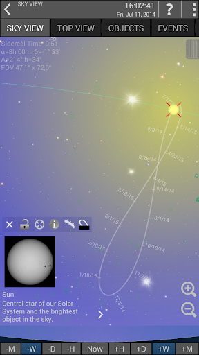 Screenshot for Mobile Observatory 2 - Astronomy in Hong Kong Play Store