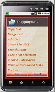 Shoppingmate Purchase Free screenshot 2