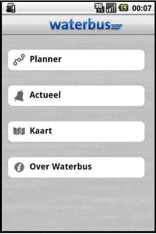 Waterbus- screenshot