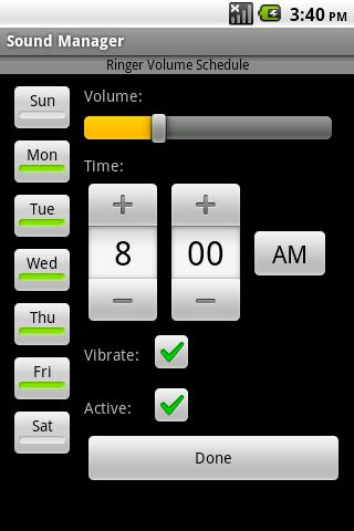Sound Manager v2 - Aplicaciones Android