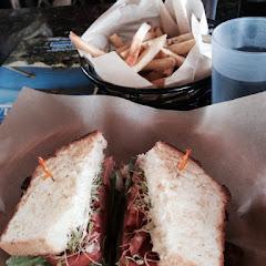 BLT on gluten-free bread! Yummy!