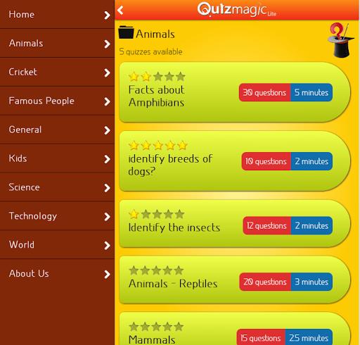 【免費益智App】QuizMagic Lite-APP點子