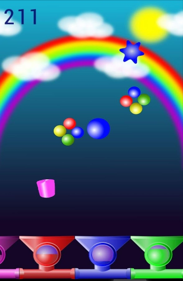 Attack Of Colors Free - screenshot