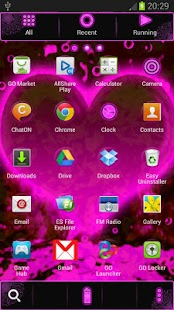 Hearts - GO Launcher Theme- screenshot thumbnail