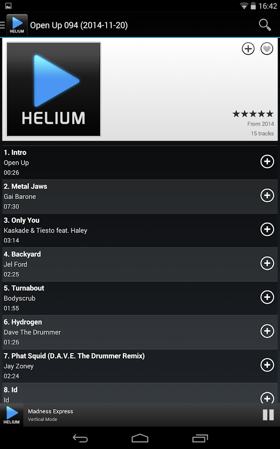 Helium Remote- screenshot