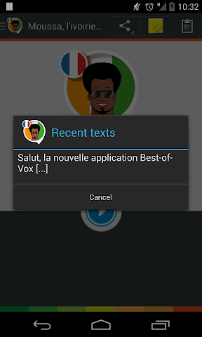 android Voix Moussa,  l'ivoirien (fra.) Screenshot 9