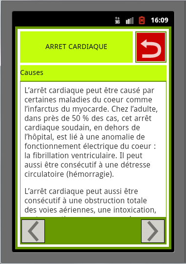 Fiches Secourisme PSC1- screenshot