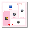 Heart theme for SquareHome icon