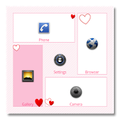 Heart theme for SquareHome