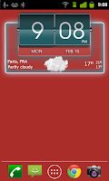 Screenshot of 3D Flip Clock Theme Pack 04