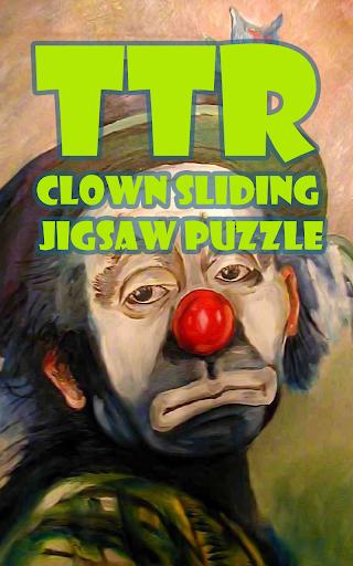 Clown Sliding Puzzle