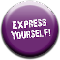 Express Yourself! Buttons logo