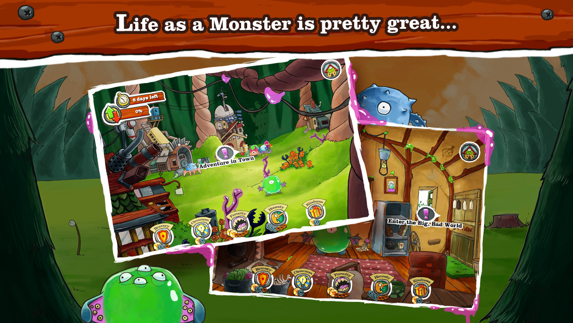 Monster Loves You!- screenshot