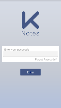 K Notes - A secure note
