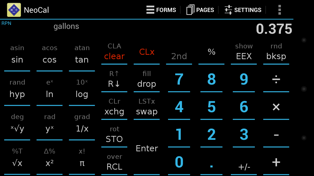 NeoCal Lite Calculator - screenshot