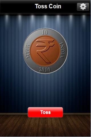 Toss Coin - screenshot