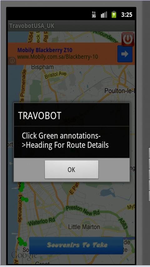 TravoBot - screenshot