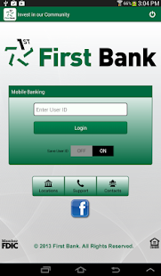 First Bank - screenshot thumbnail